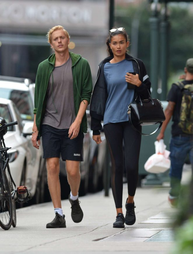 Kelly Gale 2018 : Kelly Gale: Leaving a gym in New York -05