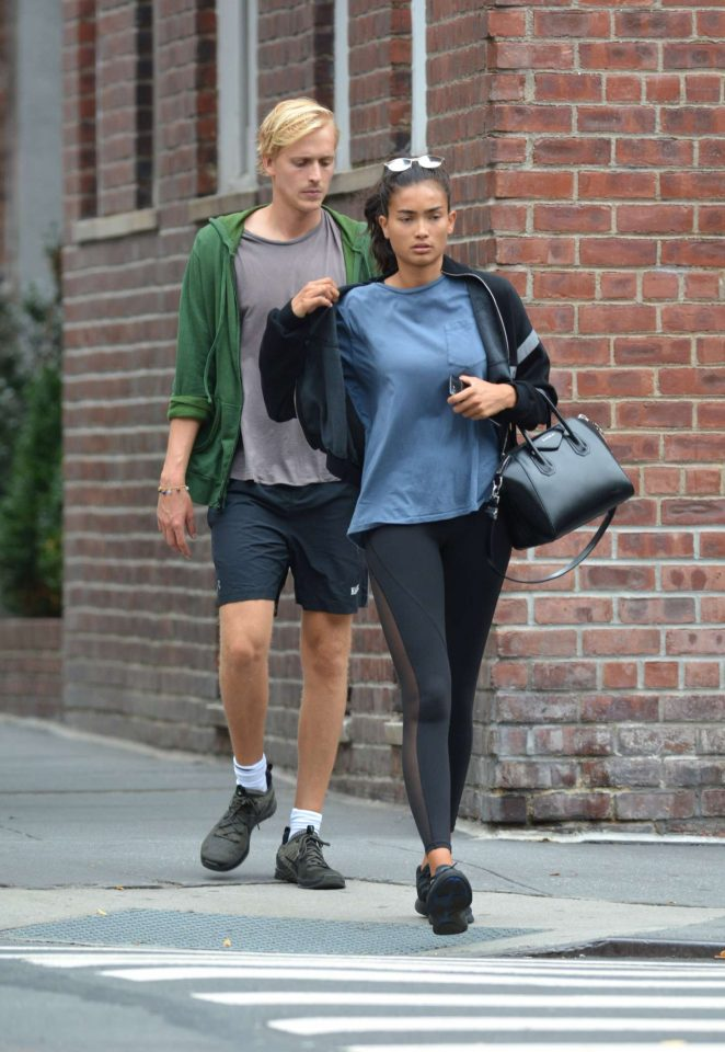 Kelly Gale 2018 : Kelly Gale: Leaving a gym in New York -06