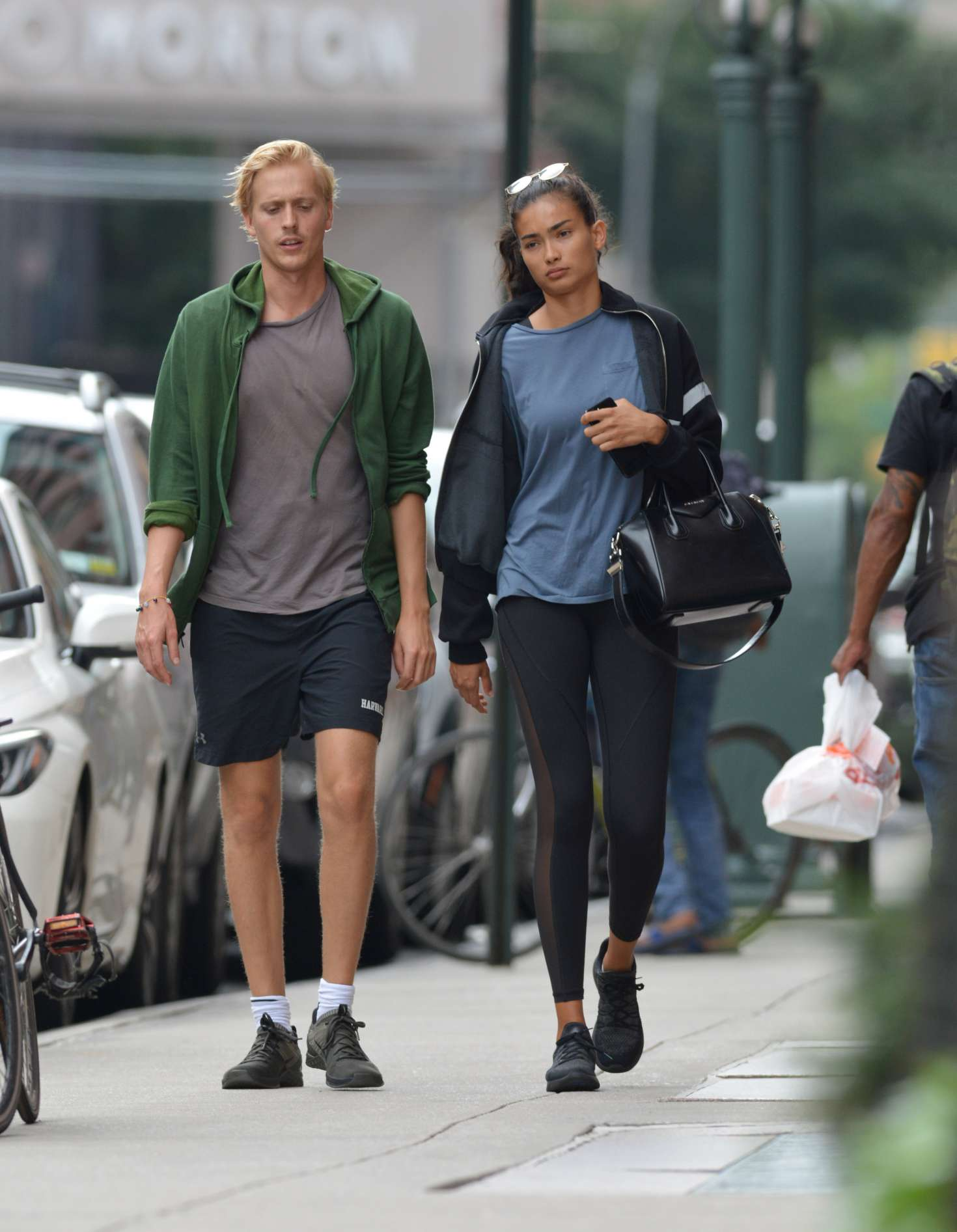 Kelly Gale 2018 : Kelly Gale: Leaving a gym in New York -09