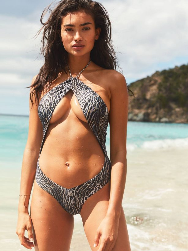 Kelly Gale - Victoria's Secret Swimwear collection (April 2020)