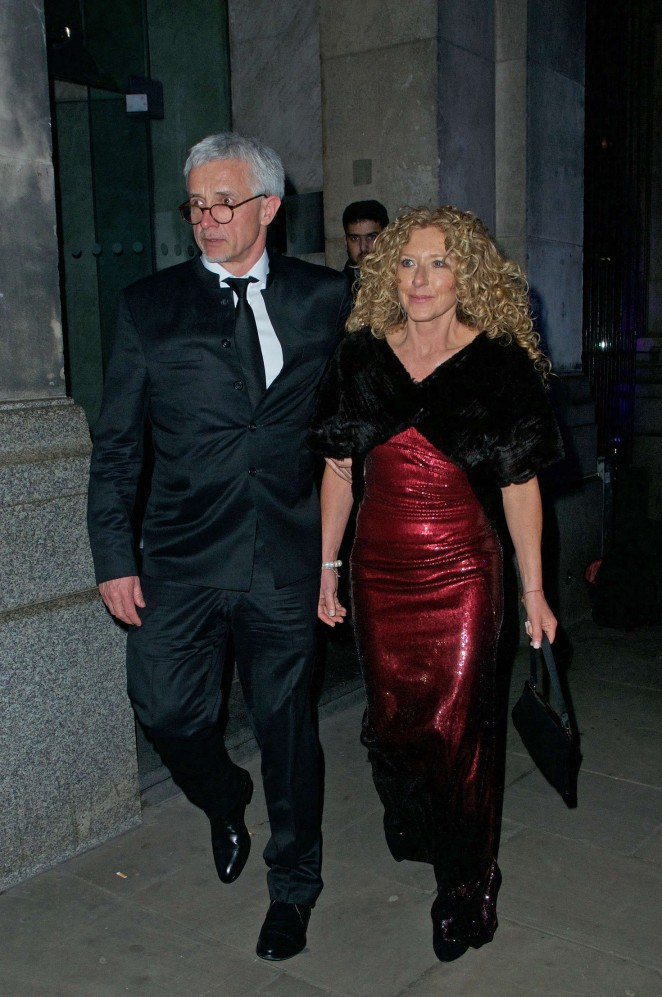 Kelly Hoppen - Leaving the Prince's Trust Gala Dinner in London