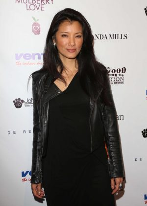 Kelly Hu - 2nd Annual Art for Animals Fundraiser Evening For Eastwood Ranch Foundation in LA