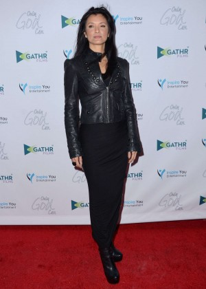Kelly Hu - 'Only God Can' Premiere in Los Angeles