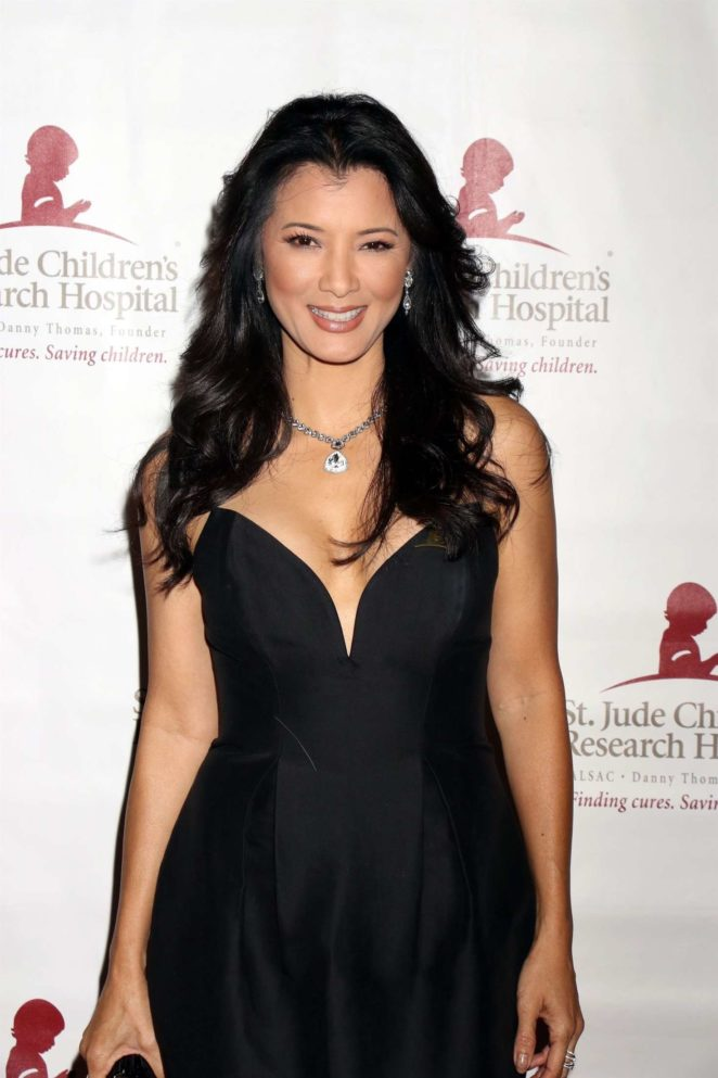 Kelly Hu - St. Jude 'Against All Odds' Celebrity Poker Tournament in Las Vegas