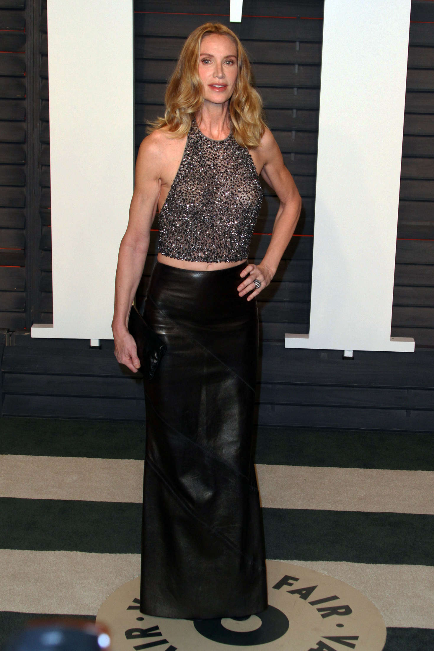 Kelly Lynch: 2016 Vanity Fair Oscar Party -01 - GotCeleb