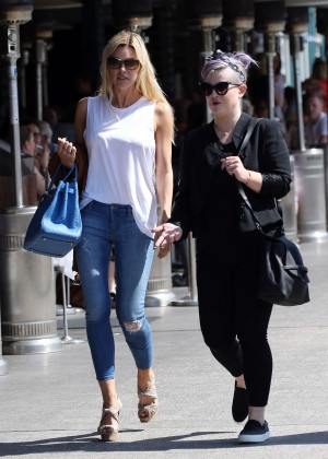 Kelly Osbourne and Sophie Monk out in Sydney
