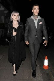 Kelly Osbourne - Arrives at 'Rocketman' Premiere Private After Party in London