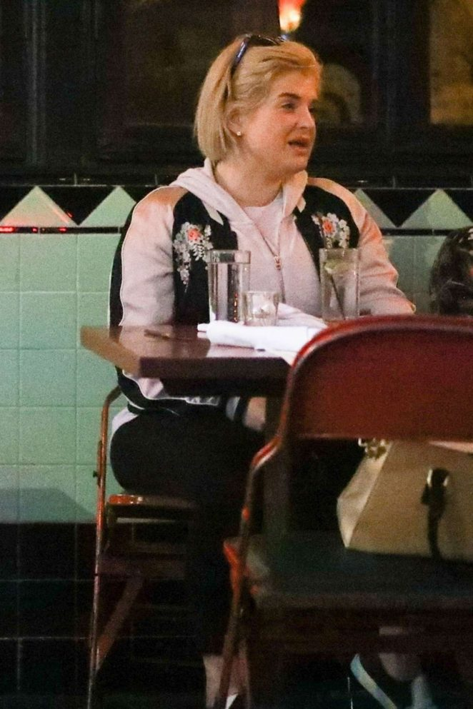 Kelly Osbourne at Little Dom's in Los Angeles