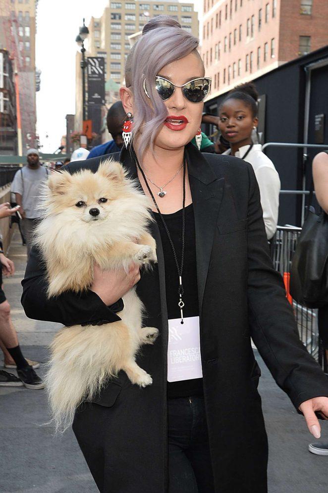 Kelly Osbourne - Cushnie Et Ochts Show at 2016 New York Fashion Week in NY