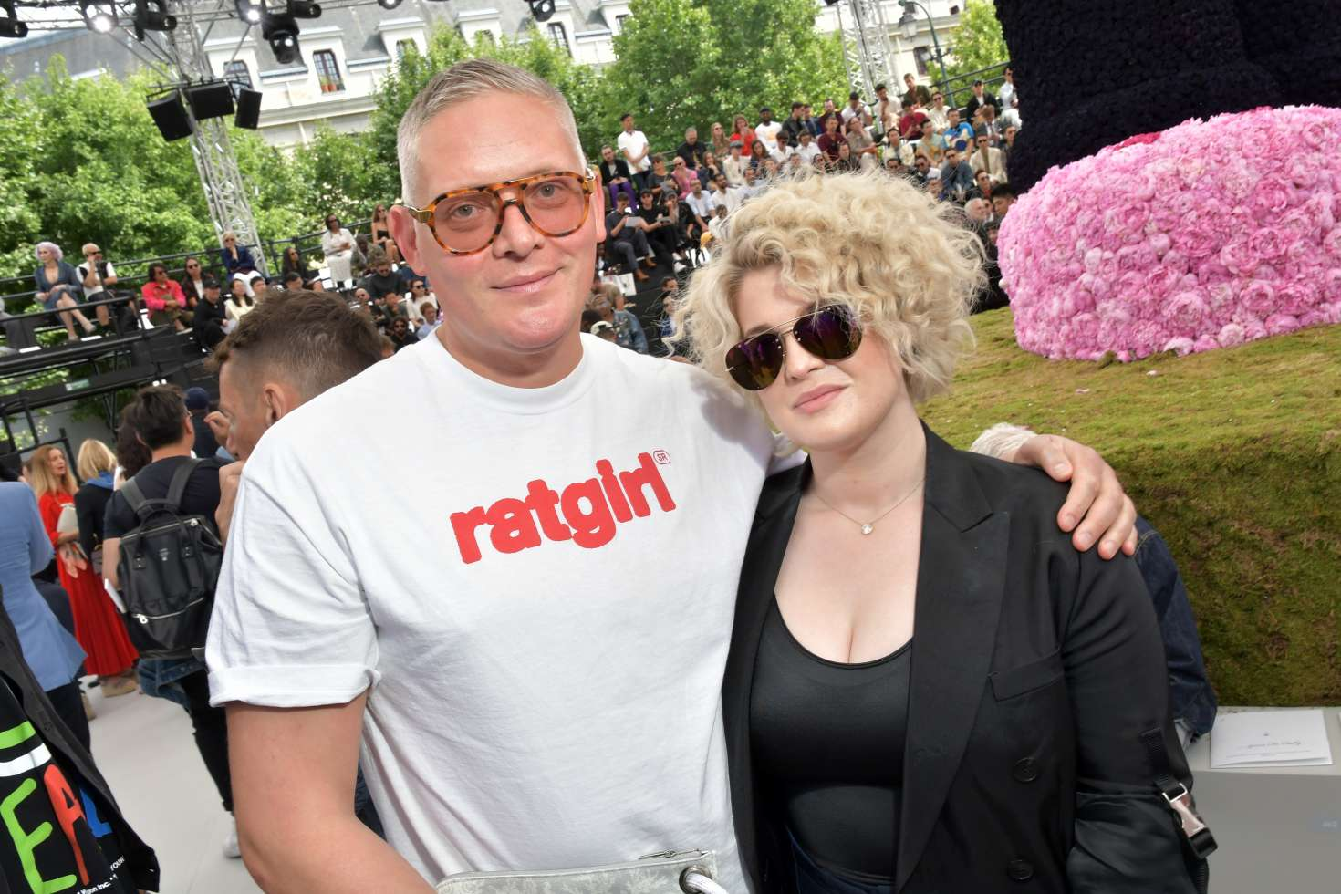 Kelly Osbourne – Dior Homme Show SS 2019 at Paris Fashion Week