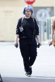 Kelly Osbourne - Out for lunch with brother Jack's girlfriend in LA