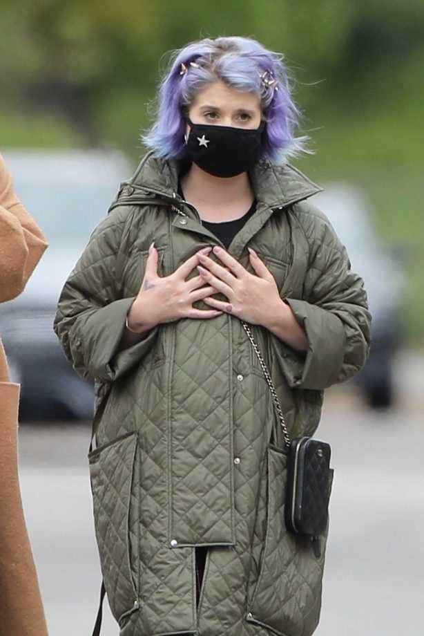 Kelly Osbourne - Seen with a Jack Osbourne's girlfriend