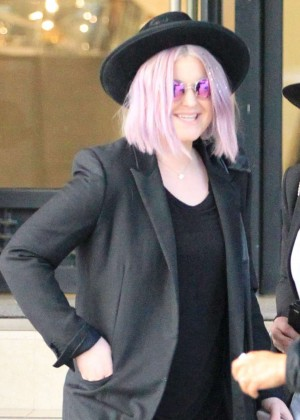 Kelly Osbourne Shopping at Barney's in Beverly Hills