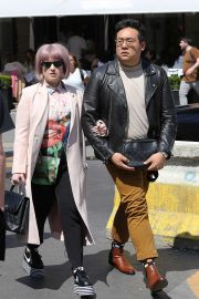Kelly Osbourne - Strolling with a Man in Paris