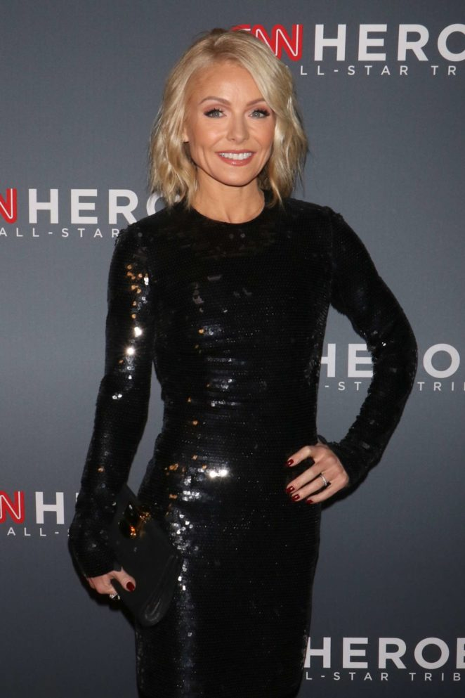 Kelly Ripa - 11th Annual CNN Heroes: An All-Star Tribute in NY