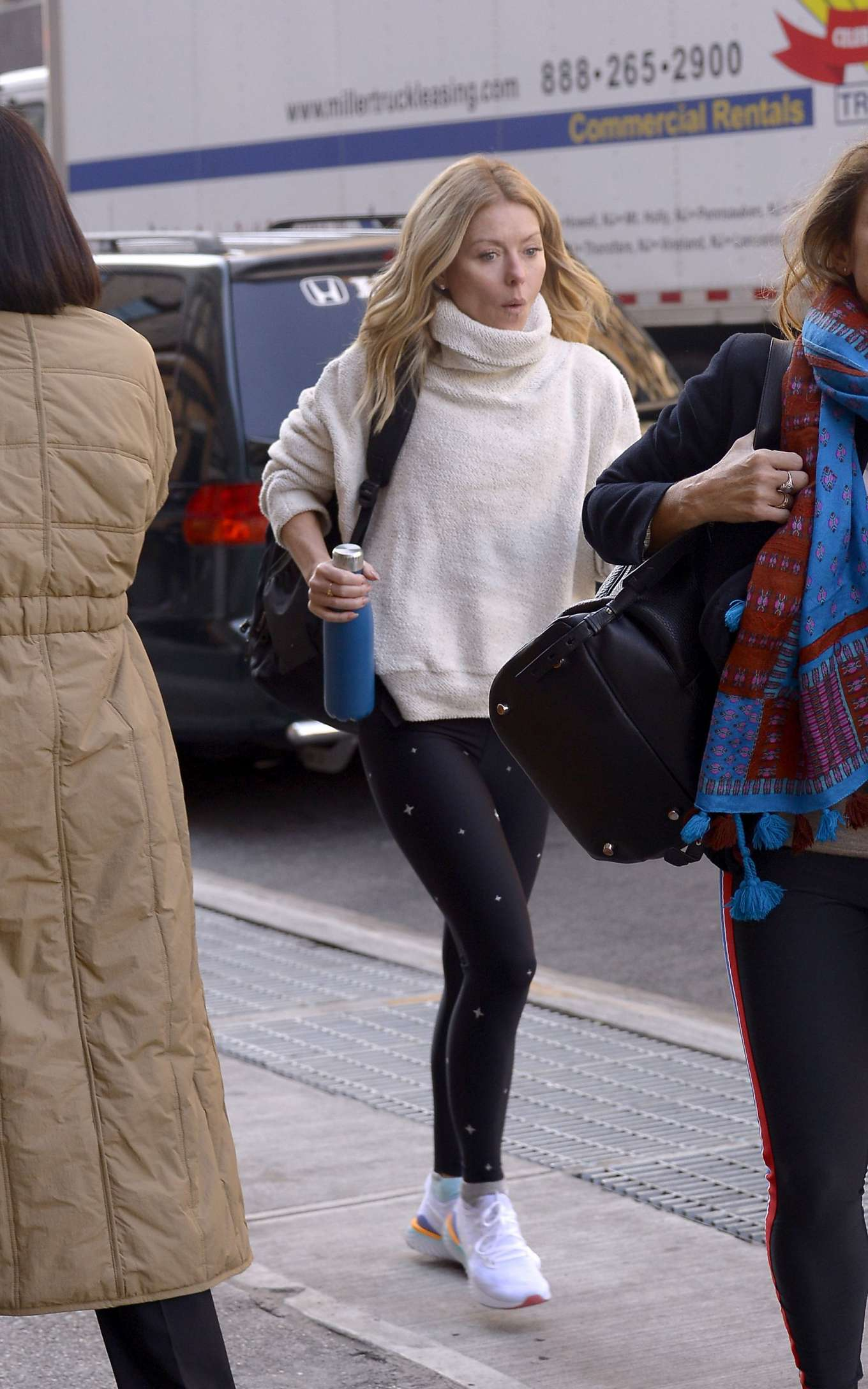 Kelly Ripa - Heading to a workout class in New York City