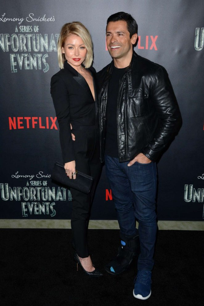 Kelly Ripa: Lemony Snickets A Series Of Unfortunate Events Screening -05