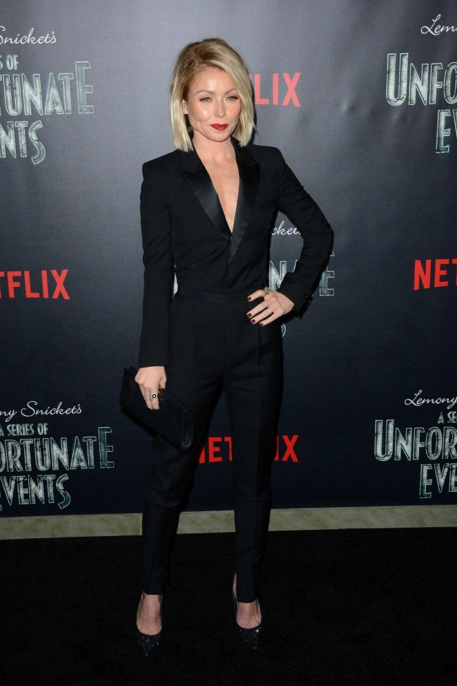 Kelly Ripa: Lemony Snickets A Series Of Unfortunate Events Screening -10