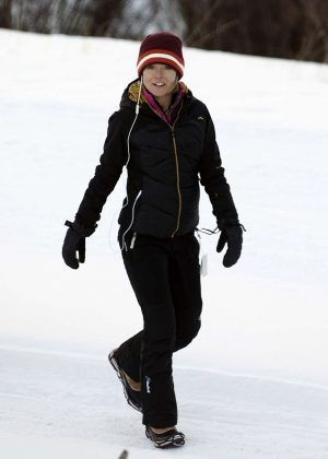 Kelly Ripa on her winter vacation in Telluride