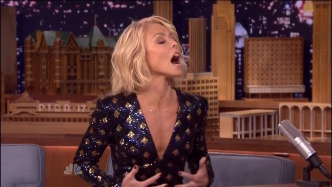 Kelly Ripa - The Tonight Show With Jimmy Fallon in NY
