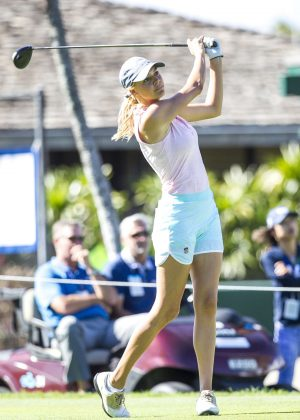 Kelly Rohrbach - 2018 Sony Open at Waialae Country Club in Honolulu