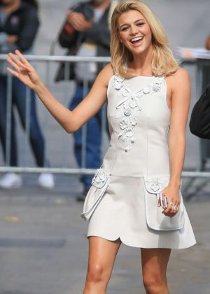 Kelly Rohrbach - Arriving at 'Jimmy Kimmel Live' in Hollywood