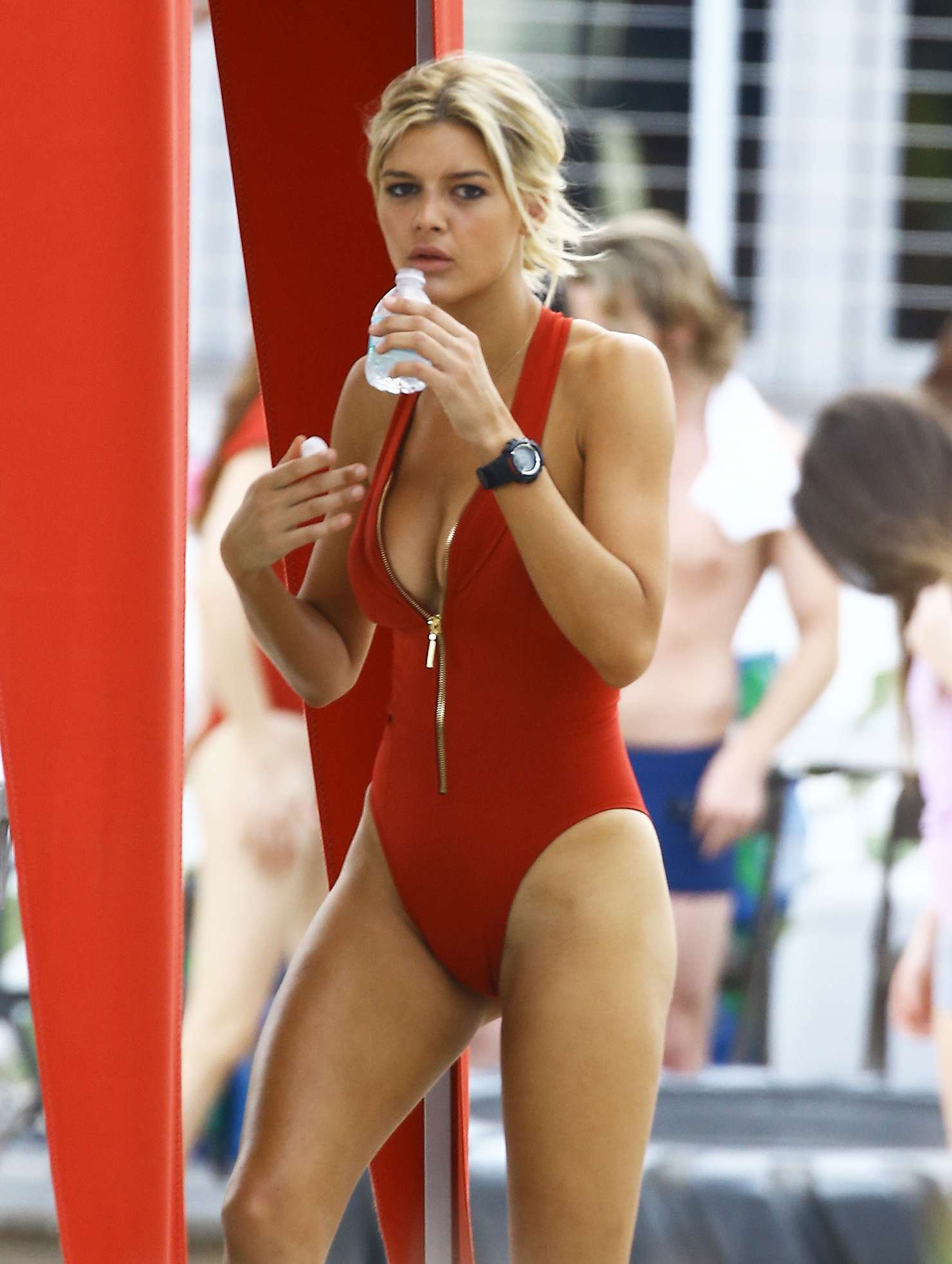 Kelly Rohrbach Hot Swimsuit 38 Casey Batchelor Cameltoe Bikini