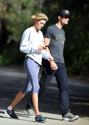 Kelly Rohrbach in Tight Leggings Out in Los Angeles