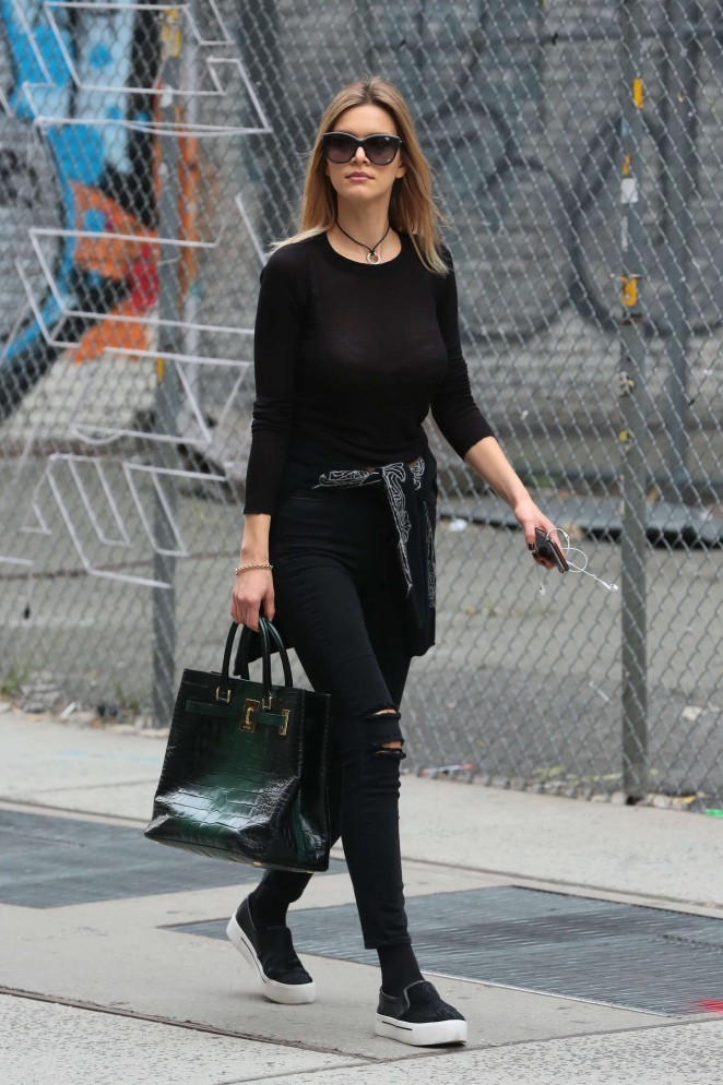 Kelly Rohrbach out and about in New York