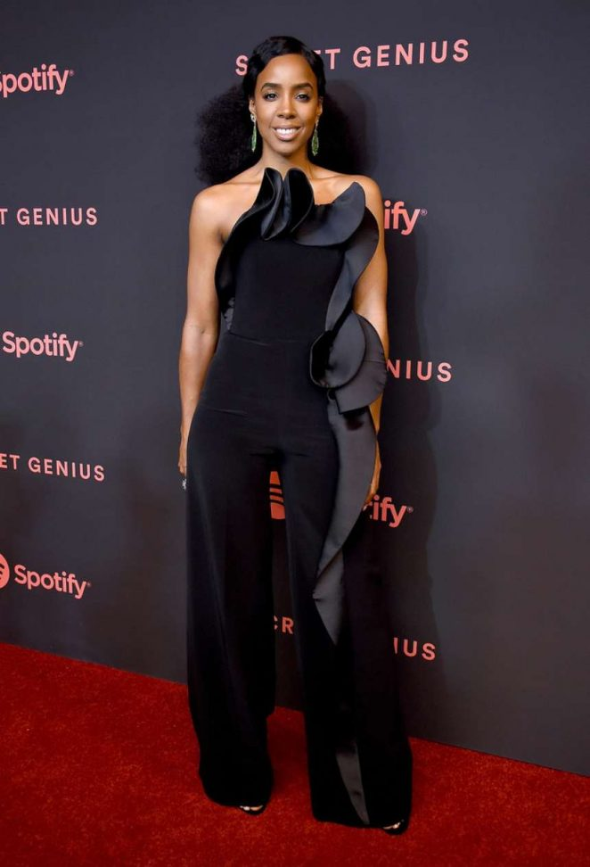 Kelly Rowland – 2018 Spotify Secret Genius Awards in Los Angeles