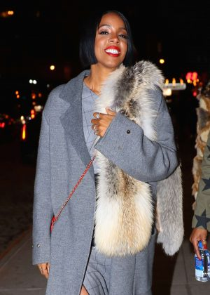 Kelly Rowland - Arrives to Migo's Listening Party in New York