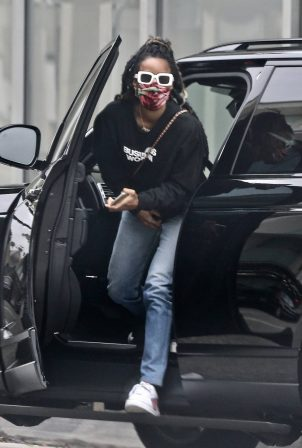 Kelly Rowland - Arrives to the doctor's office in Beverly Hills