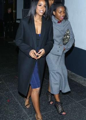 Kelly Rowland at Avalon Nightclub in Los Angeles