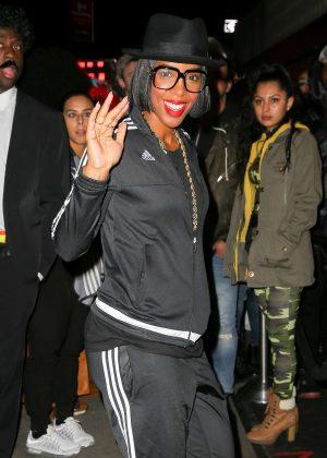 Kelly Rowland at La La Anthony Halloween Party in NY