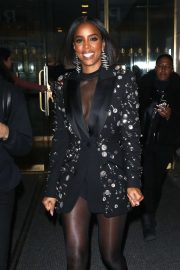 Kelly Rowland at the Today Show in New York