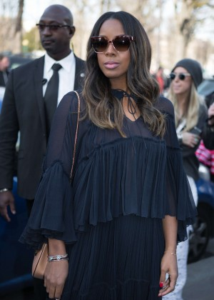 Kelly Rowland - Chloe Fashion Show 2015 in Paris