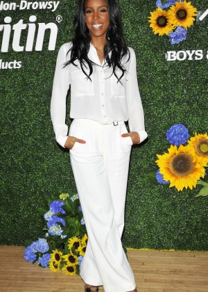 Kelly Rowland - Claritan's Spring with Boys and Girls Clubs Event in New York