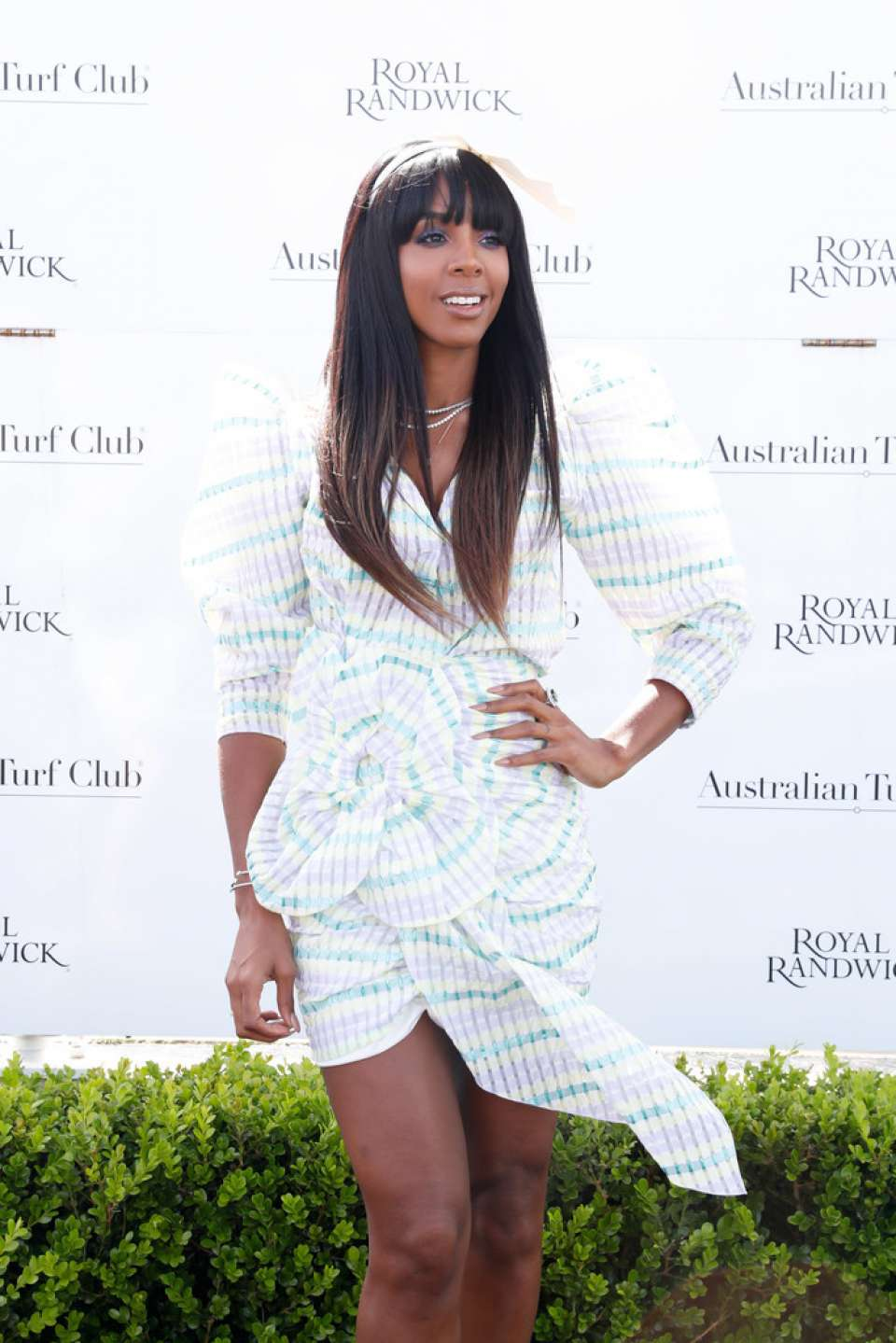 Kelly Rowland – Everest Race Day at ...