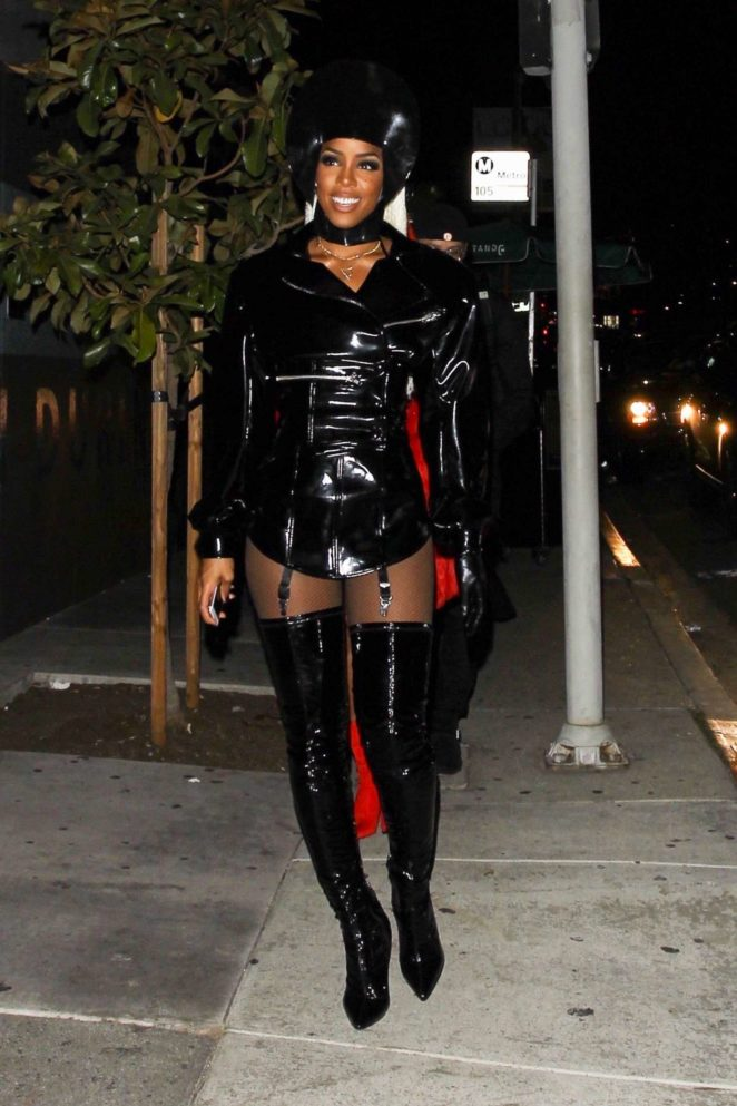 Kelly Rowland - Kelly Rowland's Costume Couture Bash in West Hollywood