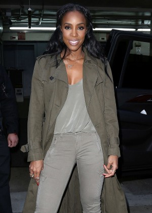 Kelly Rowland - Leaving AOL Building in New York City