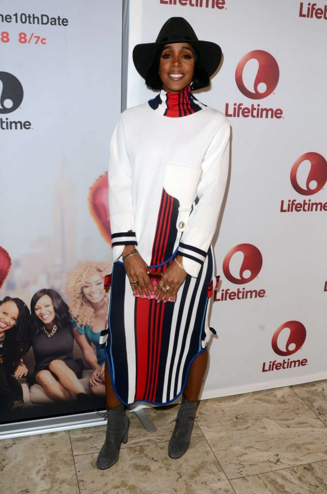 Kelly Rowland – 'Love By The 10th Date' Screening in West Hollywood