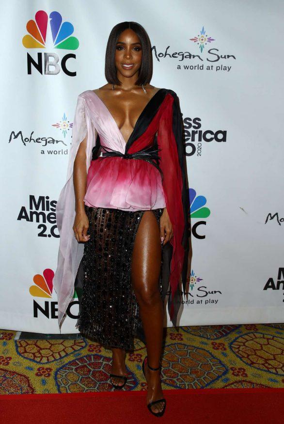Kelly Rowland - Miss America 2020 Competition at Mohegan Sun Casino Resort