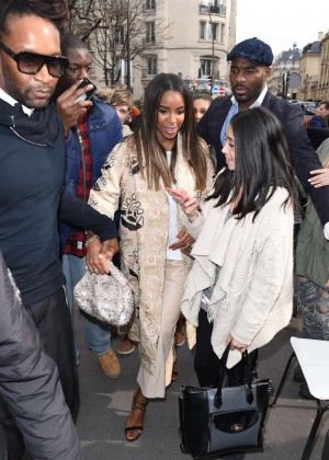 Kelly Rowland: Out and about in Paris -03