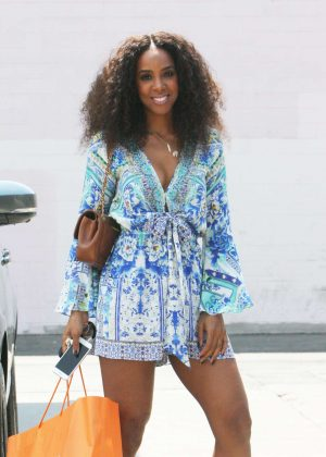 Kelly Rowland - Out in Beverly Hills