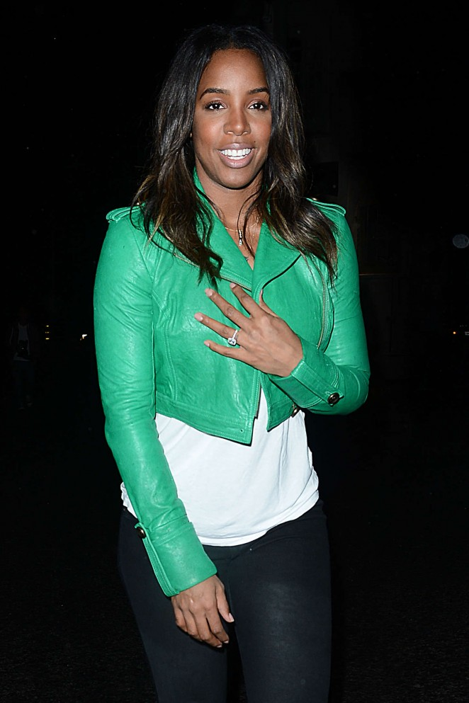 Kelly Rowland - Outside Troubador in Los Angeles