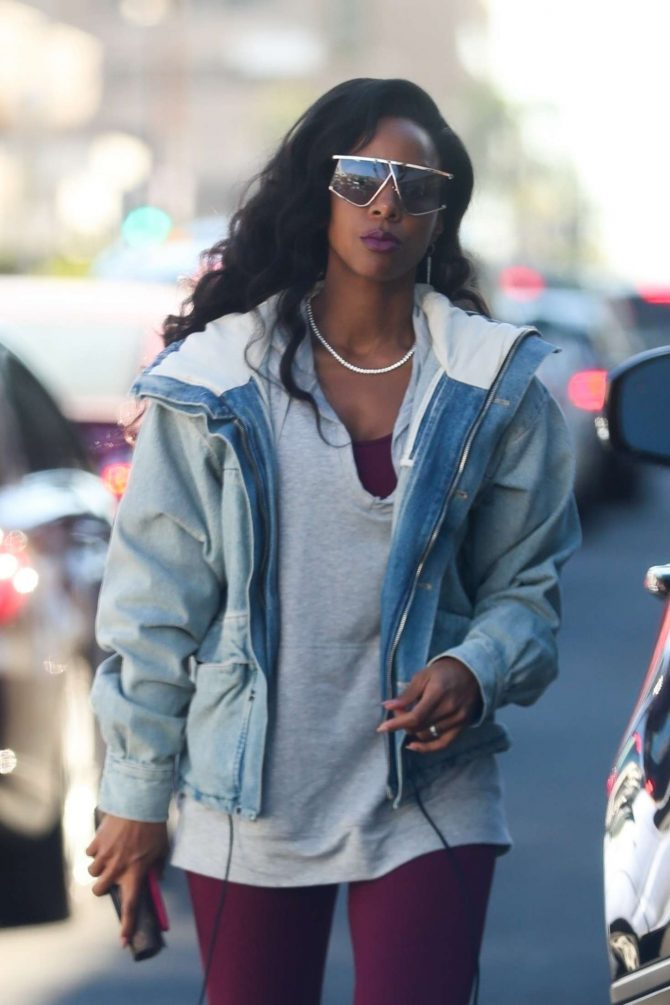 Kelly Rowland – Shopping at Kitson Kids in West Hollywood