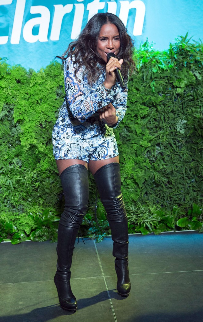 Kelly Rowland – Spring Kickoff with Claritin Event in NYC