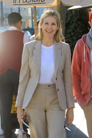 Kelly Rutherford - Exits Il Pastaio in West Hollywood