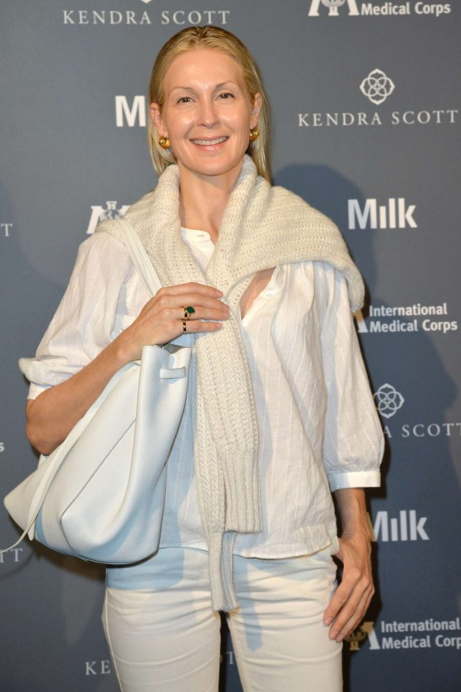 Kelly Rutherford - International Medical Corps Benefit in New York