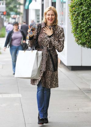 Kelly Rutherford out in Los Angeles